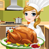Tessa's cooking turkey