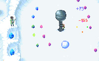 Pinball bola de neve