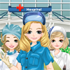 Dress up hospital nurses Games