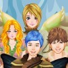 Dress up Winter fairies and elves Games