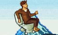 Пиксельный туалет