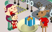 Kerstmans speelgoedfabriek