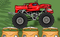 Monstertruck op reis