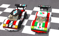 Lego City Slot Racer