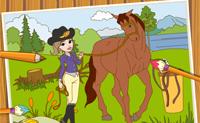 Цвета и лошади