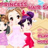 Princess' hair salon Games