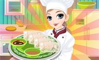 Cocina con Tessa: rollos de primavera