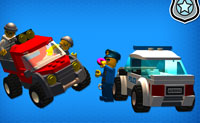 LEGO Friends Police Chase