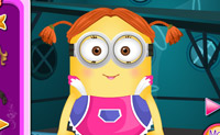 Minion Girl Dressup