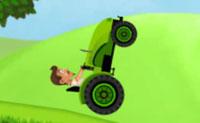 Szalony kierowca na wzgórzu