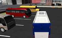 Bus Parkeren 3D