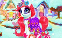 Vrolijke pony
