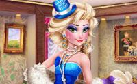 Los vestidos de fiesta de la reina del hielo.