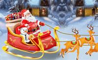Ontwerp de slee van de kerstman