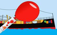 Stoomboot Ballonnen