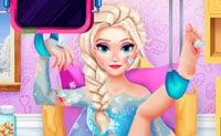 Reina del hielo hospitalizada