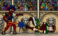 Espadas e sandálias campeão