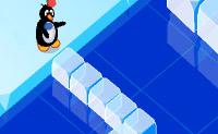 Traversând cu pinguinul