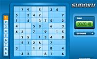 Niebieskie Sudoku