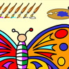 Butterfly Coloring Spiele