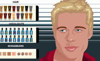 Maquilhagem de Brad Pitt