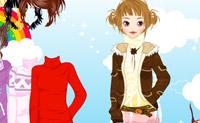 Ubieranie dziewczyny 8