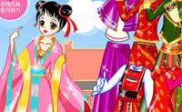 Aziatische prinses opmaken