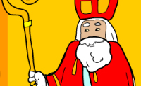 Sint en Piet aankleden