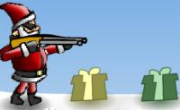 Verärgerter Weihnachtsmann.