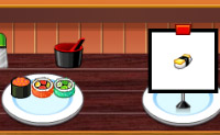 Preparazione di sushi