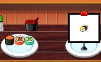 Servindo Sushi