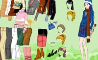 Modemeisje Opmaken 6
