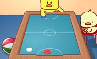 Air hockey des canards