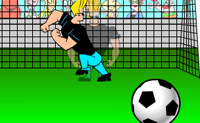 Calcio con Johnny Bravo