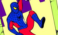 Kolorowanie Spiderman