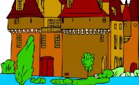 kolorowanie Zamek