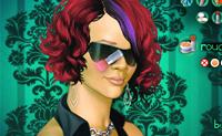 Maquilhagem de Rihanna 2