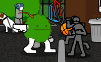 Straße Gefecht 3
