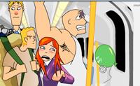Ajetreo en el Metro