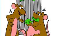 Lámina para colorear Ratatouille