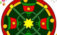 Lámina para colorear Navidad 1