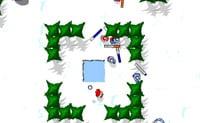 Bataille à boules de neige 7