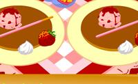 Glückliche Pfannkuchen