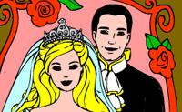 Kolorowanki Branie ślubu 2