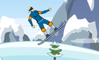 Snowboard fahren 17