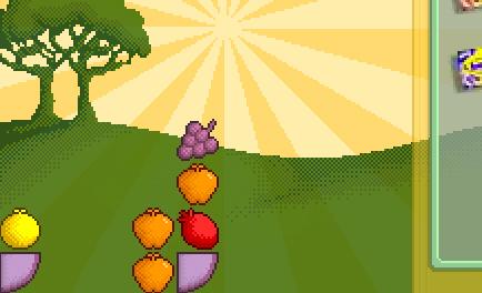 Frucht Matsch Spiel