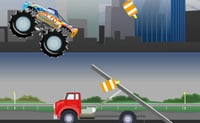 Vernietigende Monstertruck