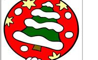 Lámina para colorear Navidad 2