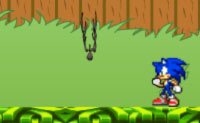Sonic nel giardino