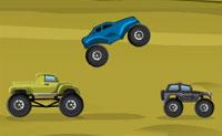 Springende Jeeps